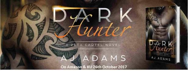 Dark Hunter by AJ Adams banner for FB