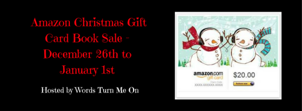 Amazon Christmas Gift Card Book Sale - December 26th to January 1st