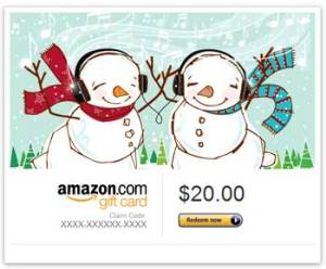 Amazon gift card banner